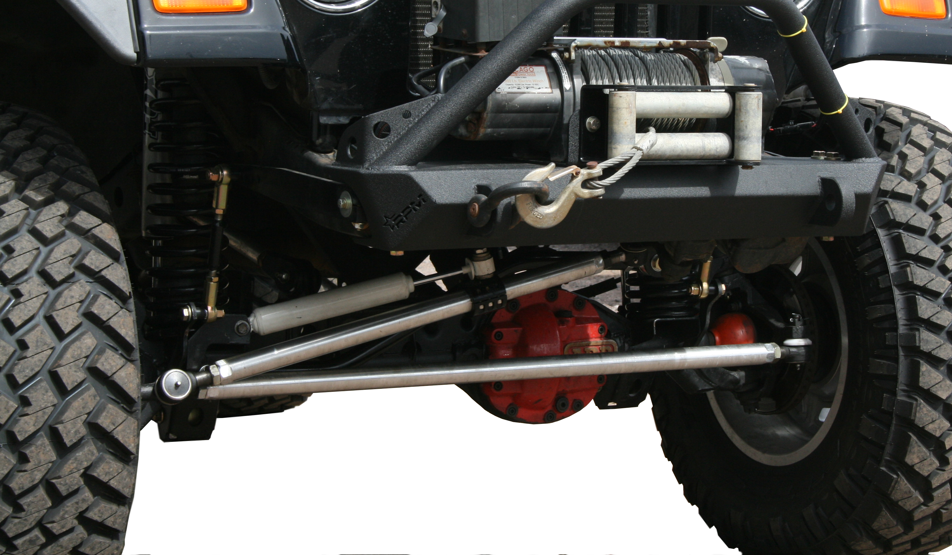 Jeep JK Heavy Duty Steering Kit with Drag Link Flip
